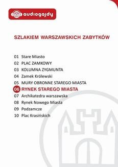 Chomikuj, ebook online Rynek Starego Miasta. Szlakiem warszawskich zabytków. Ewa Chęć