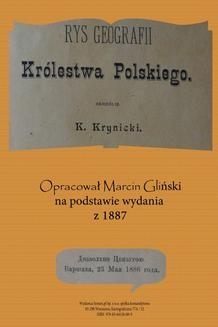 Chomikuj, ebook online Rys geografii Królestwa Polskiego 1887 (opracowanie). K. Krynicki