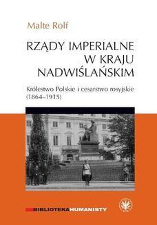 Ebook Rządy imperialne w Kraju Nadwiślańskim pdf