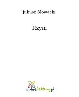 Chomikuj, ebook online Rzym. Juliusz Słowacki