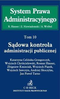 Chomikuj, ebook online Sądowa kontrola administracji publicznej. Tom 10. Roman Hauser