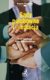 Chomikuj, ebook online Sądy polubowne i mediacje. Jan Olszewski