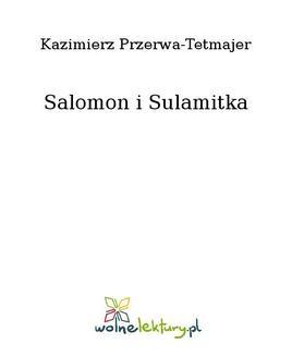 Chomikuj, ebook online Salomon i Sulamitka. Kazimierz Przerwa-Tetmajer
