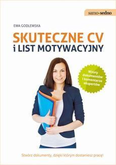 Chomikuj, ebook online Samo Sedno. Skuteczne CV i list motywacyjny. Ewa Godlewska