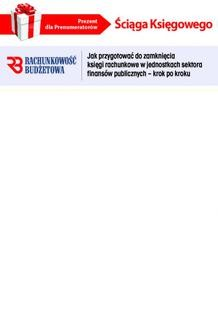 Chomikuj, ebook online Ściąga Księgowego – Jak przygotować do zamknięcia księgi rachunkowe w jednostkach sektora finansów publicznych (PDF). INFOR PL SA