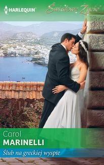 Chomikuj, ebook online Ślub na greckiej wyspie. Carol Marinelli