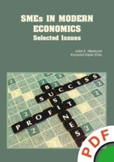 Ebook SMEs in Modern Economics. Selected Issues pdf