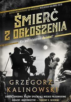 Chomikuj, ebook online Śmierć z ogłoszenia. Grzegorz Kalinowski