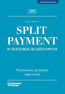 Chomikuj, pobierz ebook online Split payment w sektorze budżetowym. zbiorowa Praca