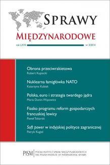 Chomikuj, ebook online Sprawy Międzynarodowe 3/2014. Paweł Tokarski