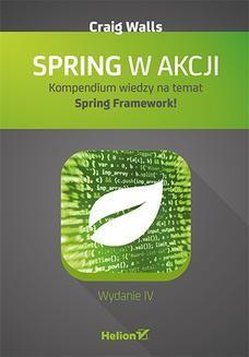 Ebook Spring w akcji. Wydanie IV pdf