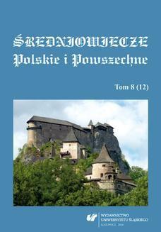 Chomikuj, ebook online Średniowiecze Polskie i Powszechne. T. 8 (12). red. Bożena Czwojdrak