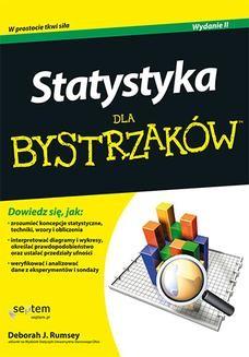 Chomikuj, ebook online Statystyka dla bystrzaków. Wydanie II. Deborah J. Rumsey