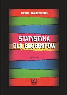 Chomikuj, ebook online Statystyka dla geografów. Iwona Jażdżewska