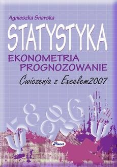 Chomikuj, ebook online Statystyka ekonometria prognozowanie. Agnieszka Snarska