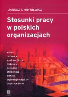 Ebook Stosunki pracy w polskich organizacjach pdf