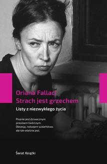 Chomikuj, ebook online Strach jest grzechem. Oriana Fallaci