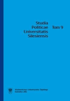 Chomikuj, ebook online Studia Politicae Universitatis Silesiensis. T. 9. red. Jan Iwanek