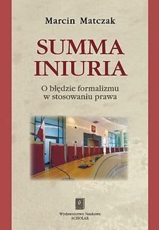 Chomikuj, ebook online Summa iniuria. Marcin Matczak