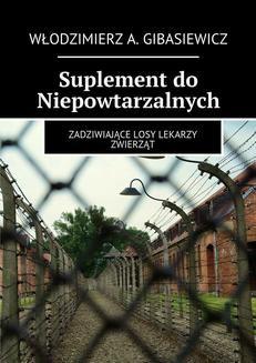 Ebook Suplement do Niepowtarzalnych pdf