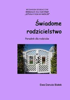 Ebook Świadome rodzicielstwo pdf