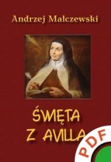 Chomikuj, ebook online Święta z Avilla. Andrzej Malczewski