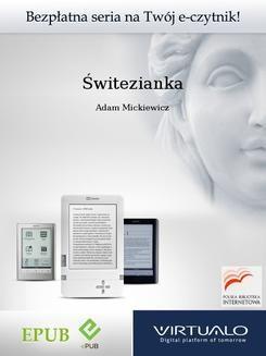 Chomikuj, ebook online Świtezianka. Adam Mickiewicz