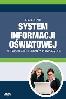 Ebook System informacji Oswiatowej – obowiązki szkół i organów prowadzących pdf