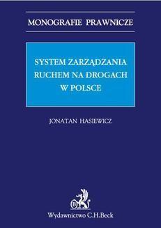 Ebook System zarządzania ruchem na drogach w Polsce pdf