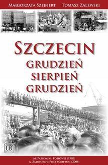 Ebook Szczecin: Grudzień – Sierpień – Grudzień pdf