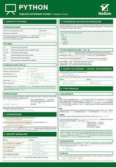 Chomikuj, ebook online Tablice informatyczne. Python. Adalbert Arsen
