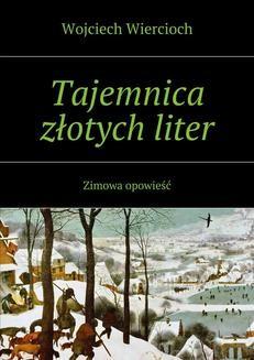 Ebook Tajemnica złotych liter pdf