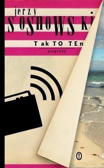 Chomikuj, ebook online Tak to ten. Jerzy Sosnowski