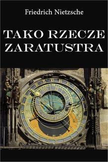 Chomikuj, ebook online Tako rzecze Zaratustra. Friedrich Nietzsche