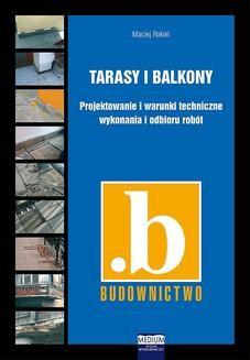 Chomikuj, ebook online Tarasy i balkony. Maciej Rokiel