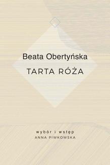 Chomikuj, pobierz ebook online Tarta róża. Beata Obertyńska