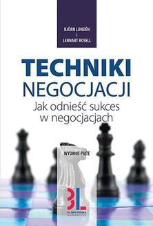 Chomikuj, ebook online Techniki negocjacji. Björn Lundén