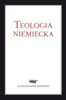 Chomikuj, ebook online Teologia niemiecka. Opracowanie zbiorowe