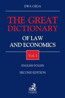 Chomikuj, ebook online The Great Dictionary of Law and Economics. Vol. I. English – Polish. Ewa Ożga