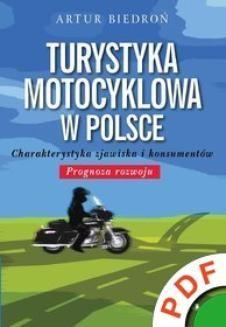Ebook Turystyka motocyklowa w Polsce. Charakterystyka zjawiska i konsumentów. Prognoza rozwoju pdf