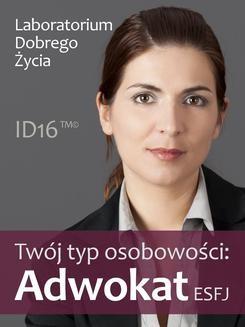 Ebook Twój typ osobowości: Adwokat (ESFJ) pdf