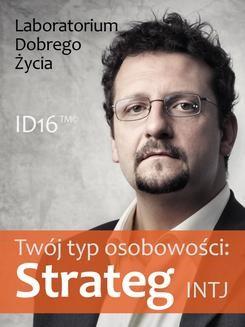 Ebook Twój typ osobowości: Strateg (INTJ) pdf