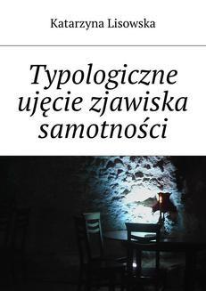 Ebook Typologiczne ujęcie zjawiska samotności pdf
