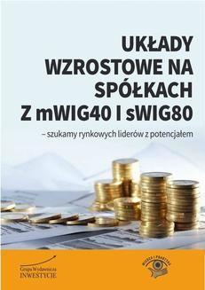 Chomikuj, ebook online Układy wzrostowe na spółkach z mWIG40 i sWIG80. Michał Pietrzyca