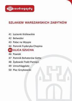 Chomikuj, ebook online Ulica Szucha. Szlakiem warszawskich zabytków. Ewa Chęć