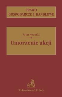 Chomikuj, ebook online Umorzenie akcji. Artur Nowacki