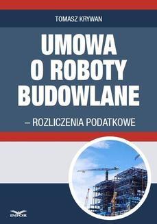 Ebook Umowa o roboty budowlane pdf