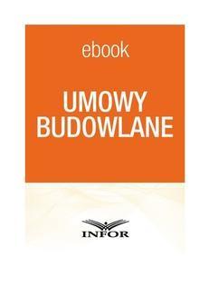 Chomikuj, ebook online Umowy budowlane. Justyna Żarnowska
