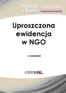 Ebook Uproszczona ewidencja w NGO z wzorami pdf