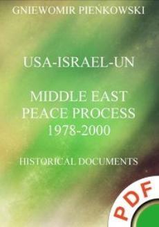Chomikuj, ebook online USA-Israel-UN.Middle East Peace Process: 1978-2000. Historical Documents. Gniewomir Pieńkowski